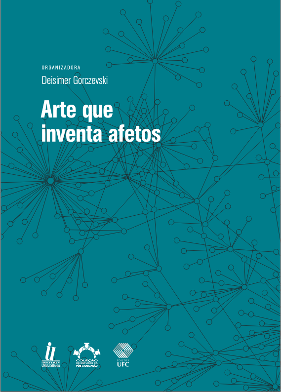 Cover of Arte que inventa afetos
